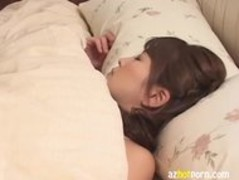 AzHotPorn.com - Futanari Japanese Lesbian Strap On Play Thumb