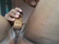 THICK CUM FROM MY AFRICAN PUSY Thumb