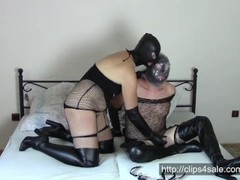 Couple in leather opera gloves (Part 2: Bagging) Thumb