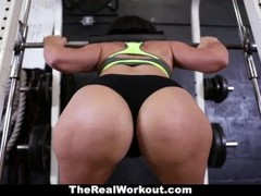 TeamSkeet - Sliding Cock into Workout Chick Thumb