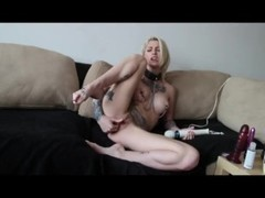 Kleio Valentien Spanks her ass, fucks her ass and pussy hard Thumb
