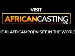 Petite African Amateur Model Casting Thumb