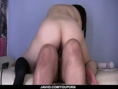 Yuri Shiroyama feels massive inches of dick doggy style  - More at javhd.net Thumb