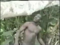 African amateurs threesome outdoor Thumb