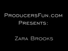 Interview with Zara Brooks ends in Hardcore Fucking with Mr Producer Thumb