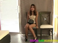 Adorable Asian teen tricked into casting couch Thumb
